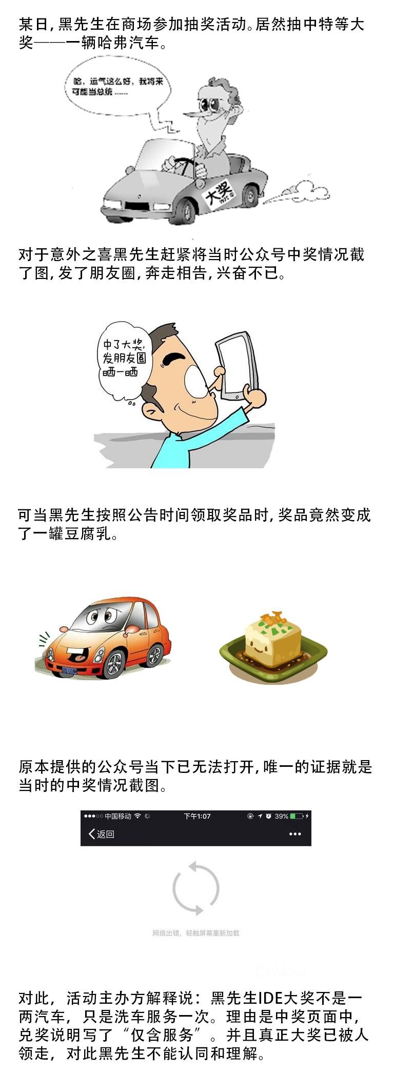 律师说:抽中汽车变豆腐乳是怎么回事?-群益观察